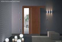 Wall-mounted sliding doors